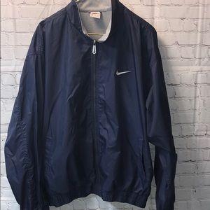 Nike Jackets & Coats - Nike Navy Windbreaker XL